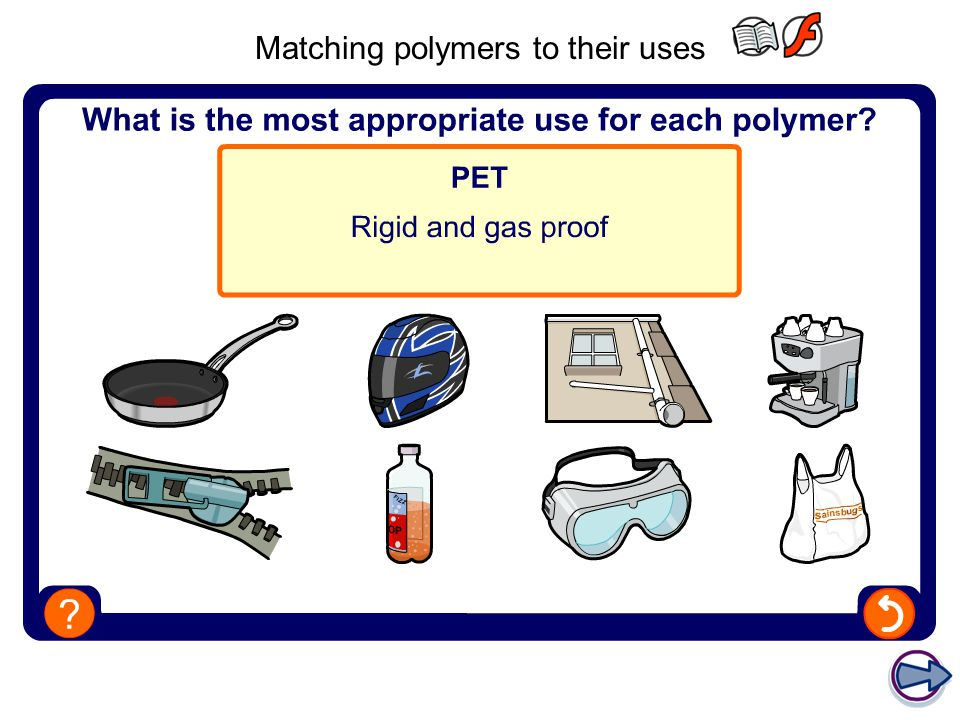 Matching polymers to their uses