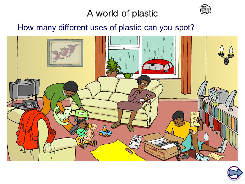 A world of plastic How many different uses of plastic can you spot
