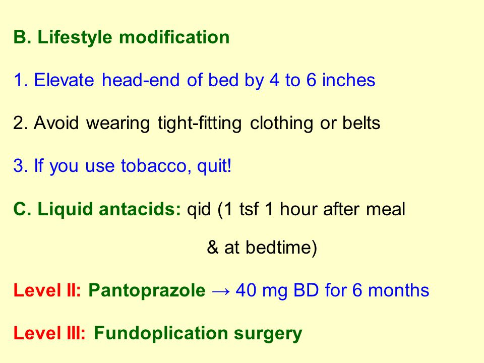 B. Lifestyle modification