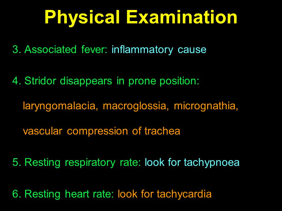 Physical Examination 3. Associated fever: inflammatory cause