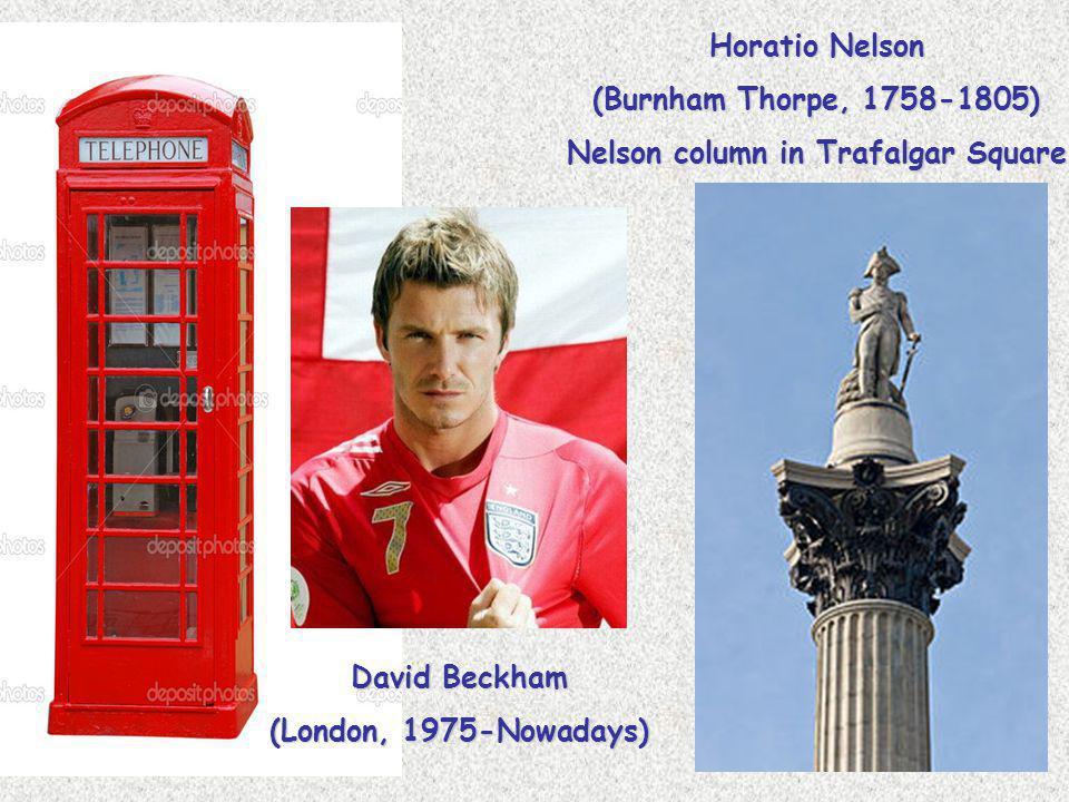 Nelson column in Trafalgar Square