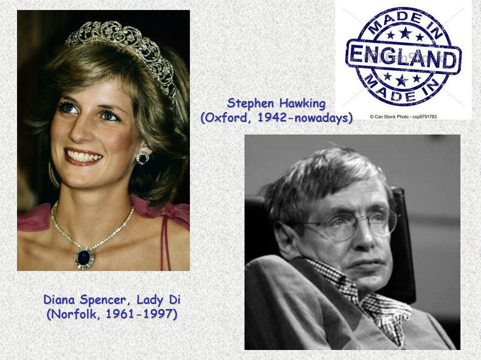 Stephen Hawking (Oxford, 1942-nowadays)