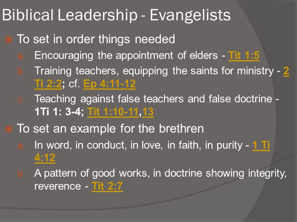spiritual qualifications for leadership Expository study of malachi: a spiritual leader must honor god by walking with him and teaching his truth or he will incur god's discipline lesson 3: the requirements for spiritual.