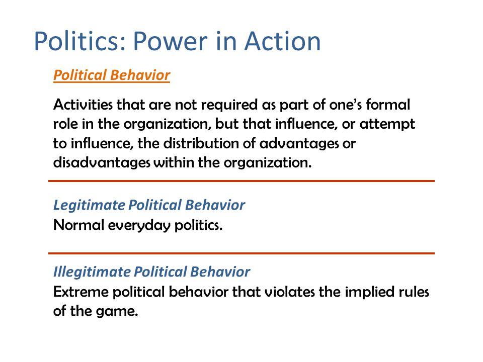 Politics: Power in Action