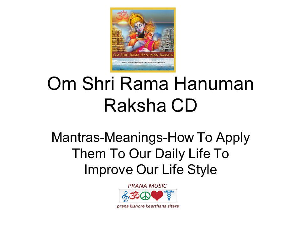 Om Shri Rama Hanuman Raksha CD