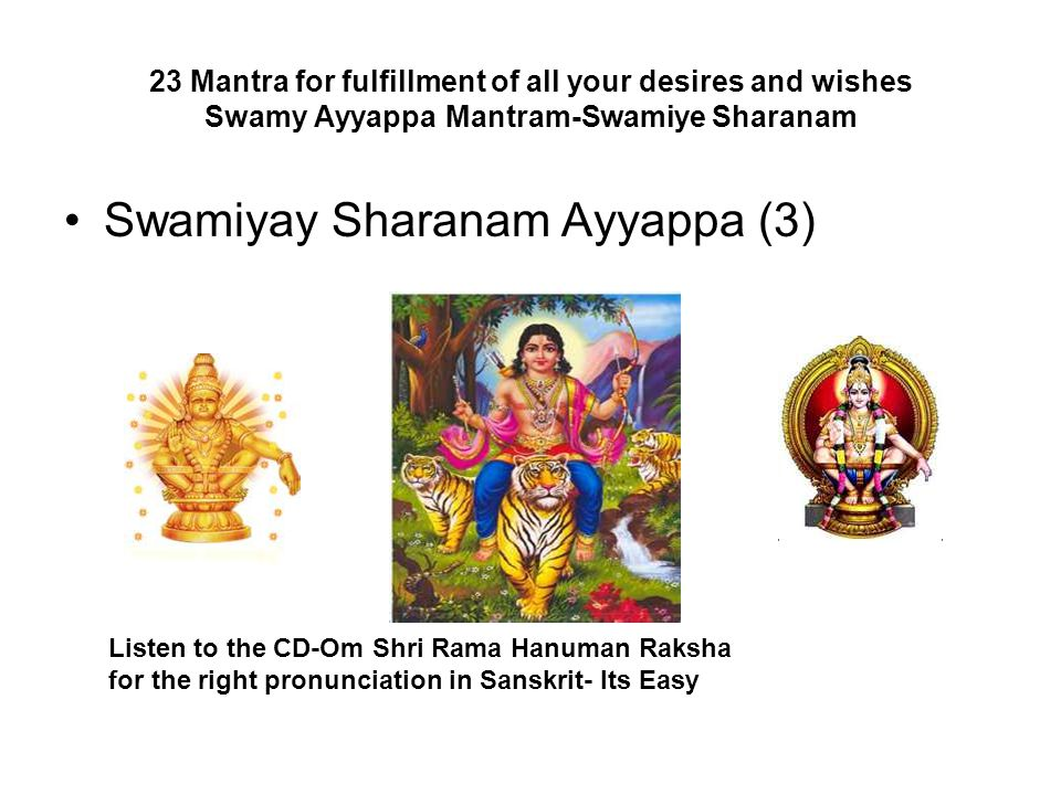 Swamiyay Sharanam Ayyappa (3)