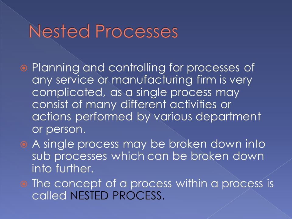 Nested Processes