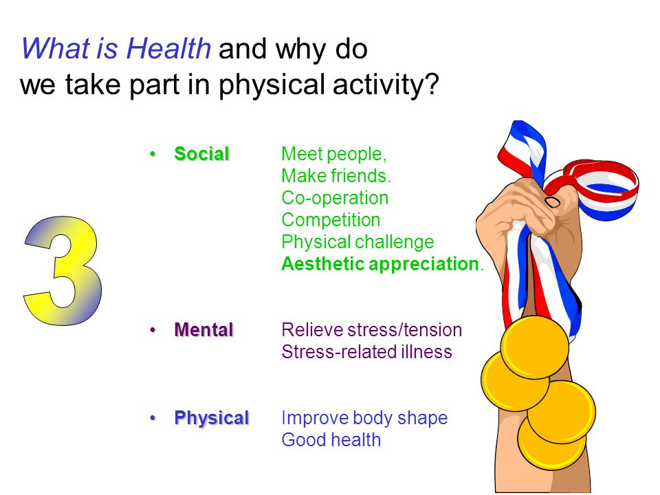 What is Health and why do we take part in physical activity