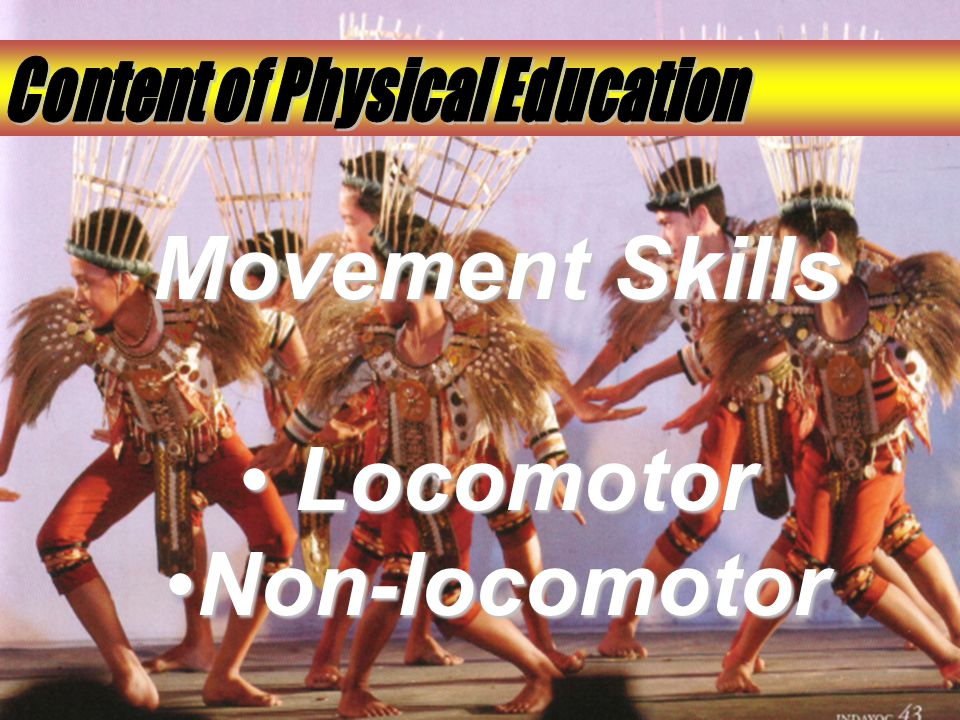 Content of Physical Education