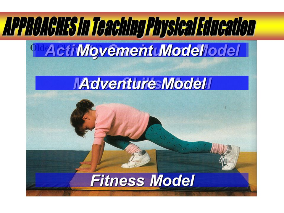 APPROACHES in Teaching Physical Education Activity Curriculum Model
