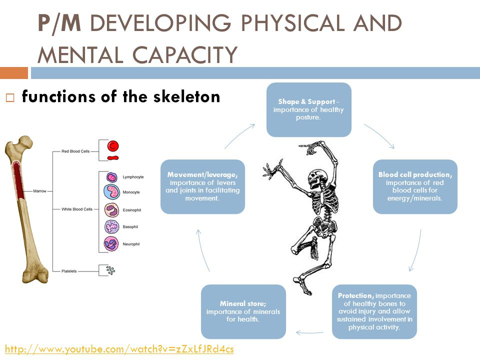 P/M Developing physical and mental capacity