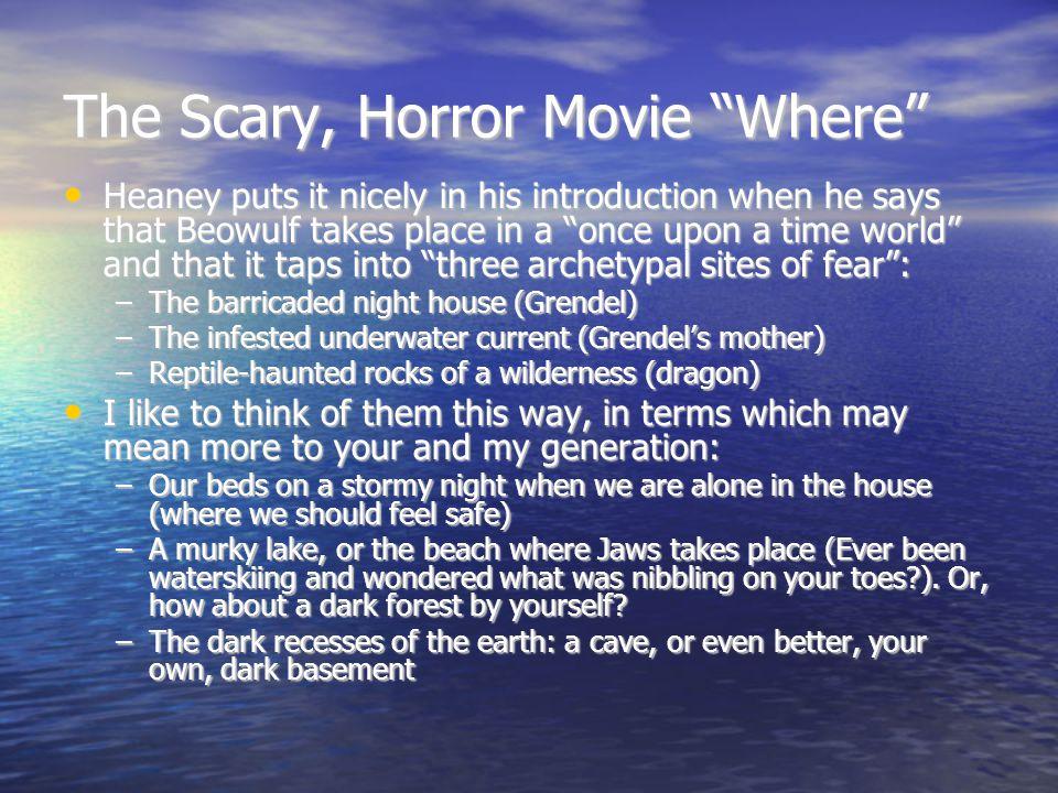 The Scary, Horror Movie Where
