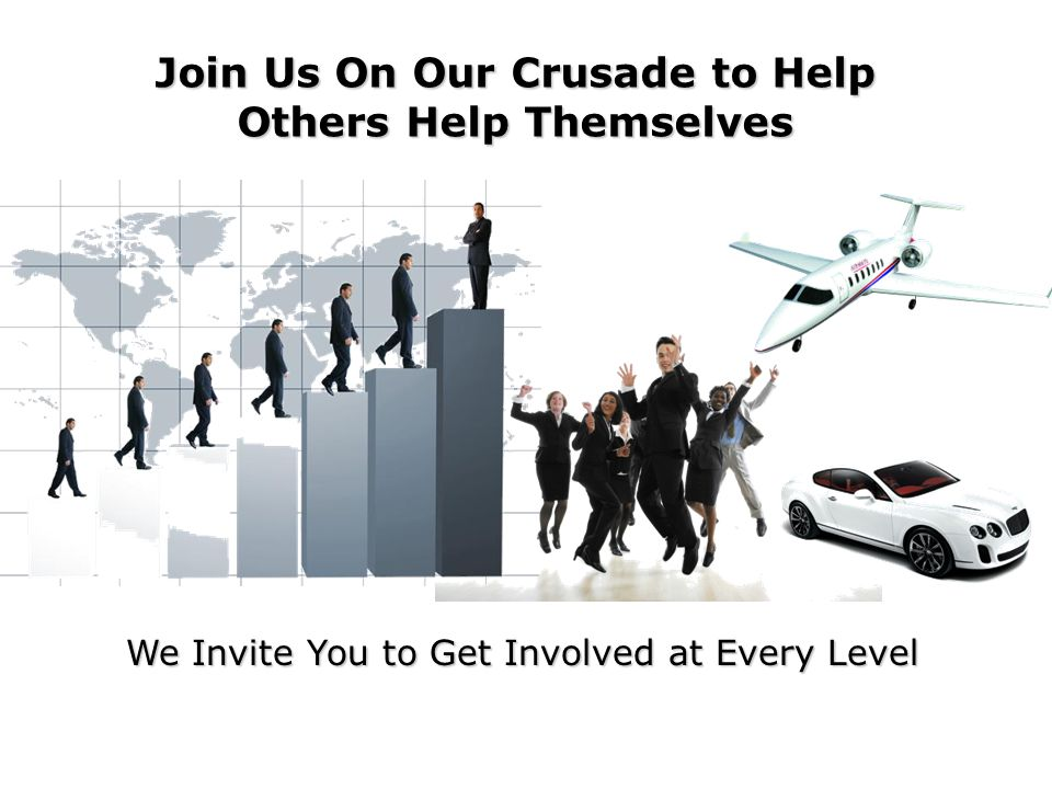 Join Us On Our Crusade to Help Others Help Themselves