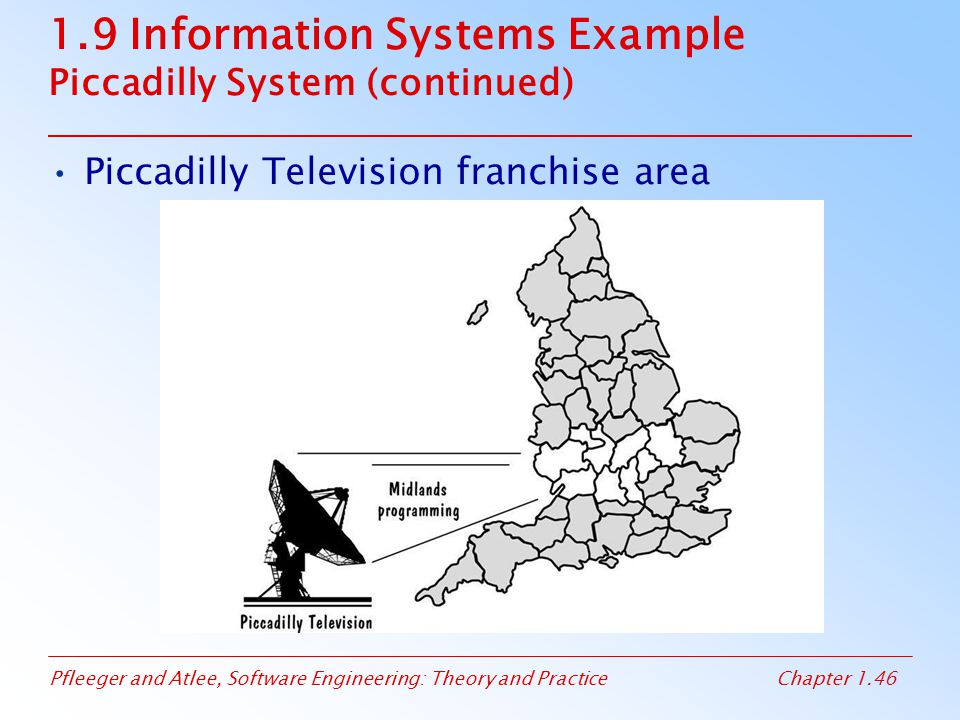1.9 Information Systems Example Piccadilly System (continued)