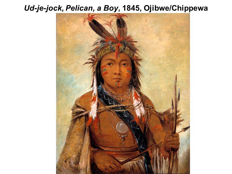 Ud-je-jock, Pelican, a Boy, 1845, Ojibwe/Chippewa