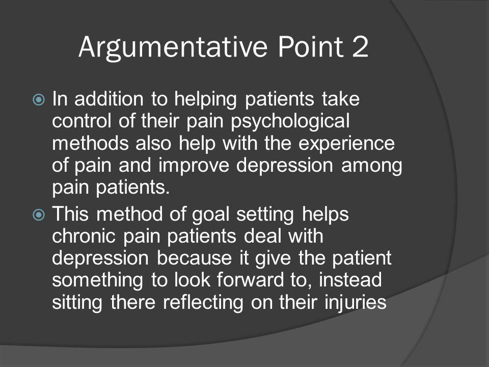 Argumentative Point 2