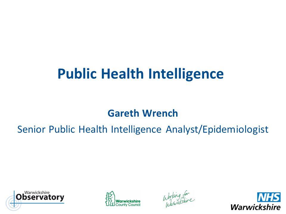 Public Health Intelligence