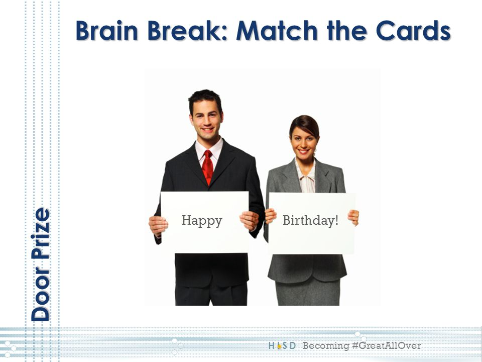 Brain Break: Match the Cards