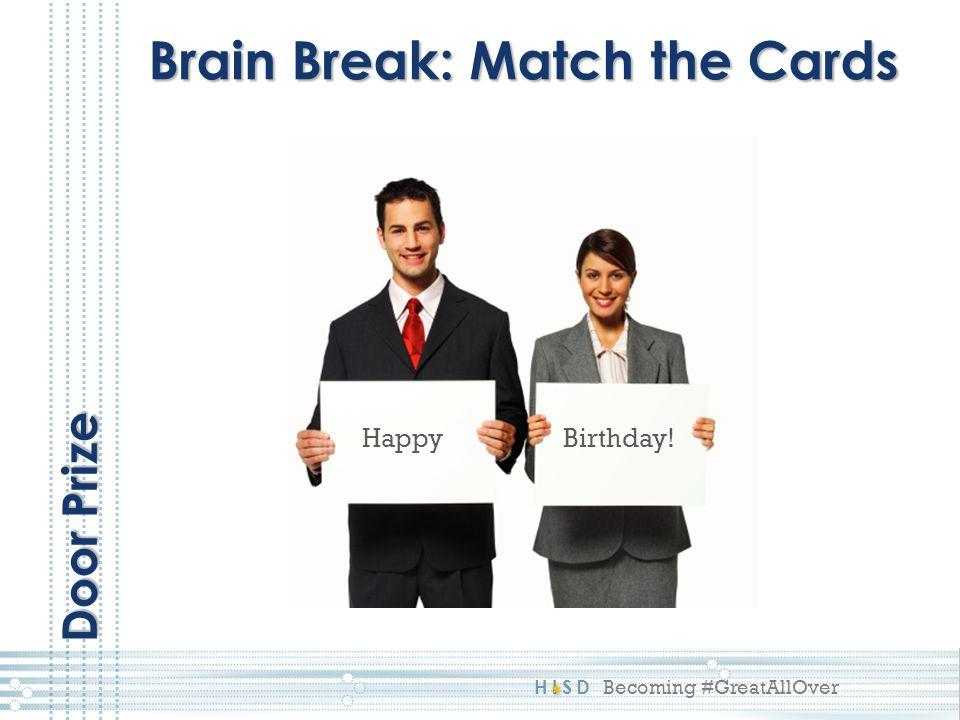 Brain Break: Match the Cards