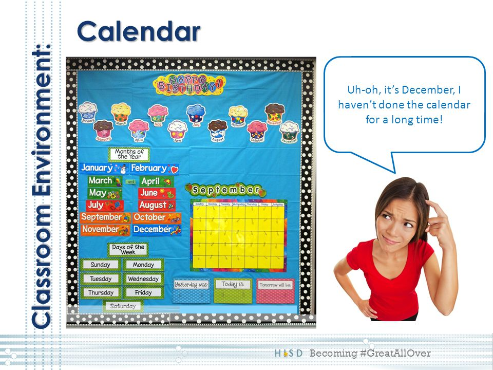 Uh-oh, it's December, I haven't done the calendar for a long time!