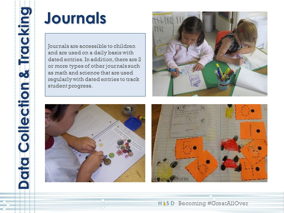 Journals Data Collection & Tracking