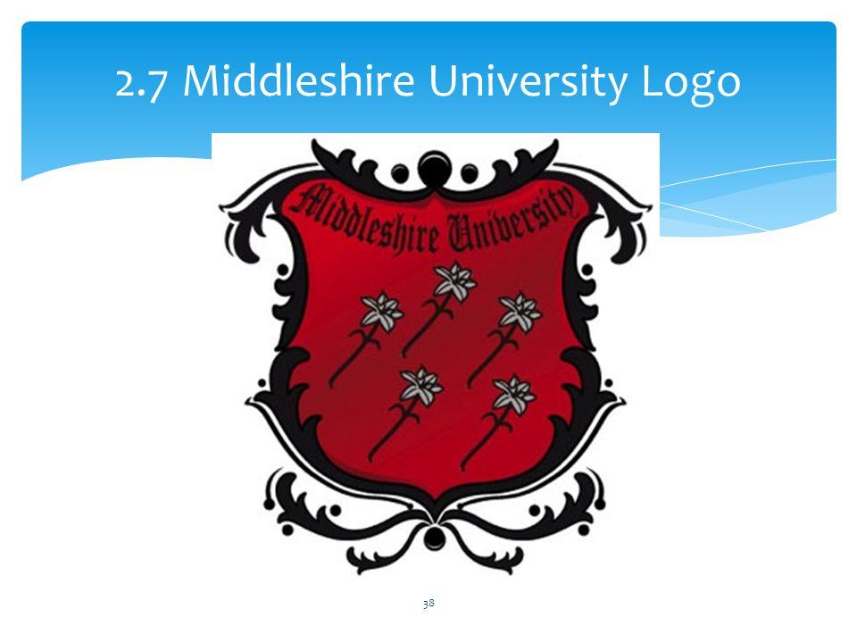 2.7 Middleshire University Logo