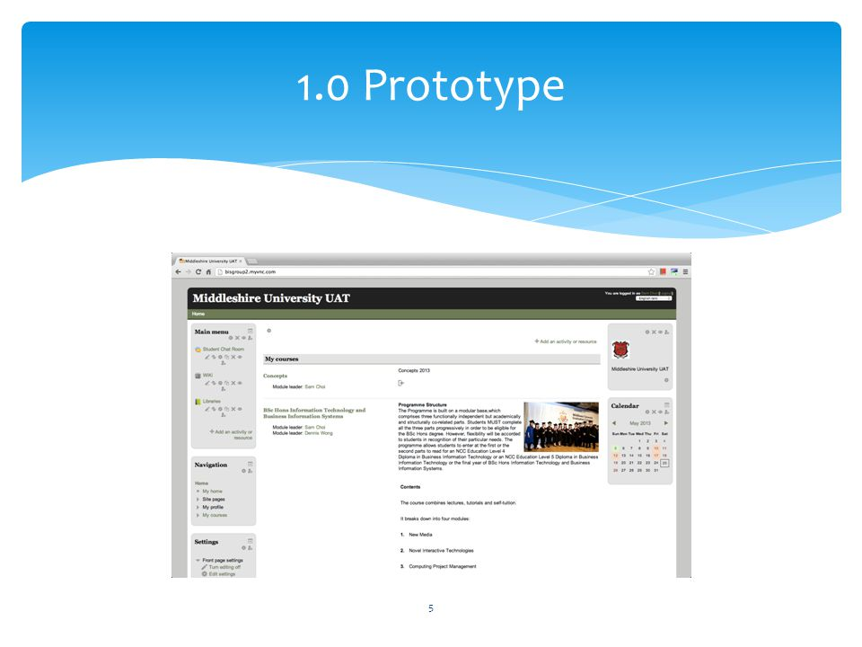 1.0 Prototype