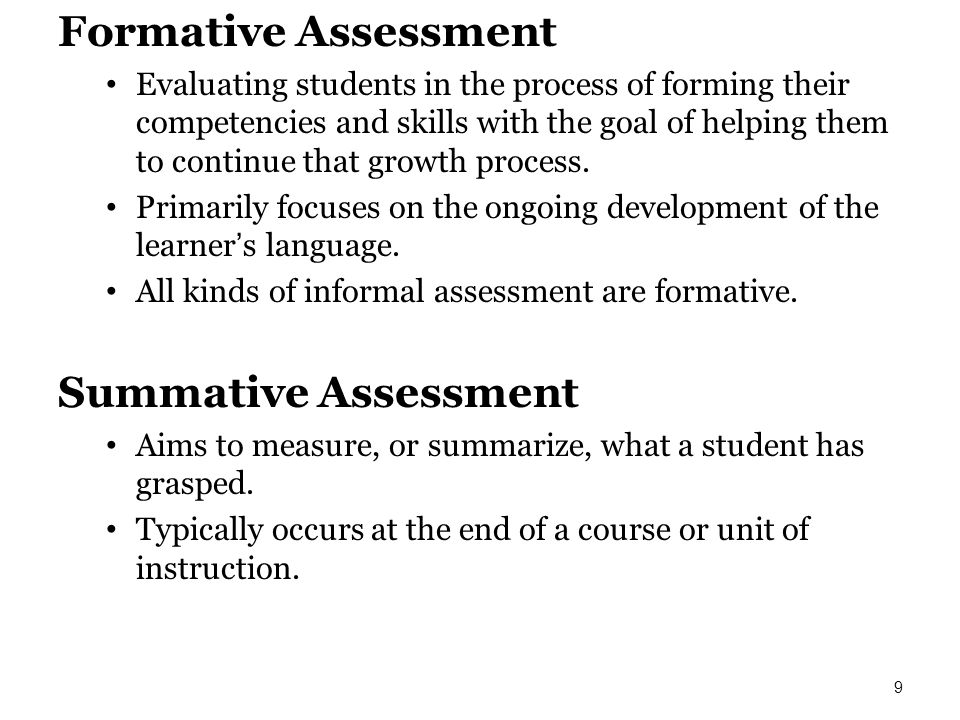 formative and summative evaluations essay In formative evaluation  what's the difference between formative and summative evaluations in formative evaluation.