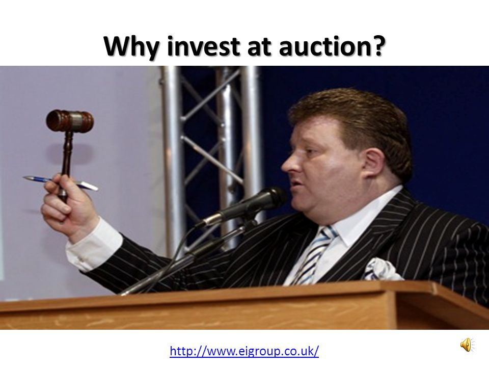 Why invest at auction http://www.eigroup.co.uk/