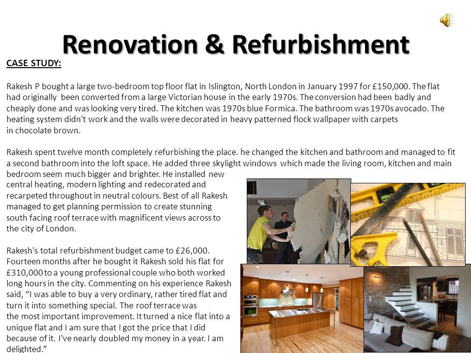 Renovation & Refurbishment