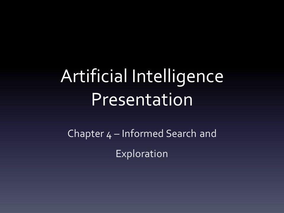 Artificial Intelligence Presentation