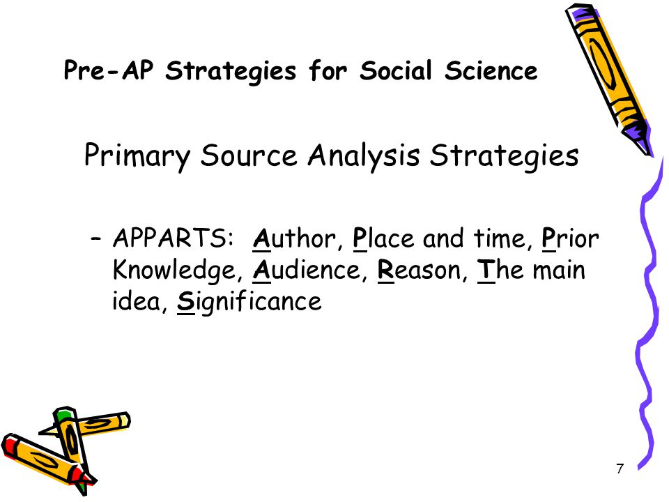 Pre-AP Strategies for Social Science
