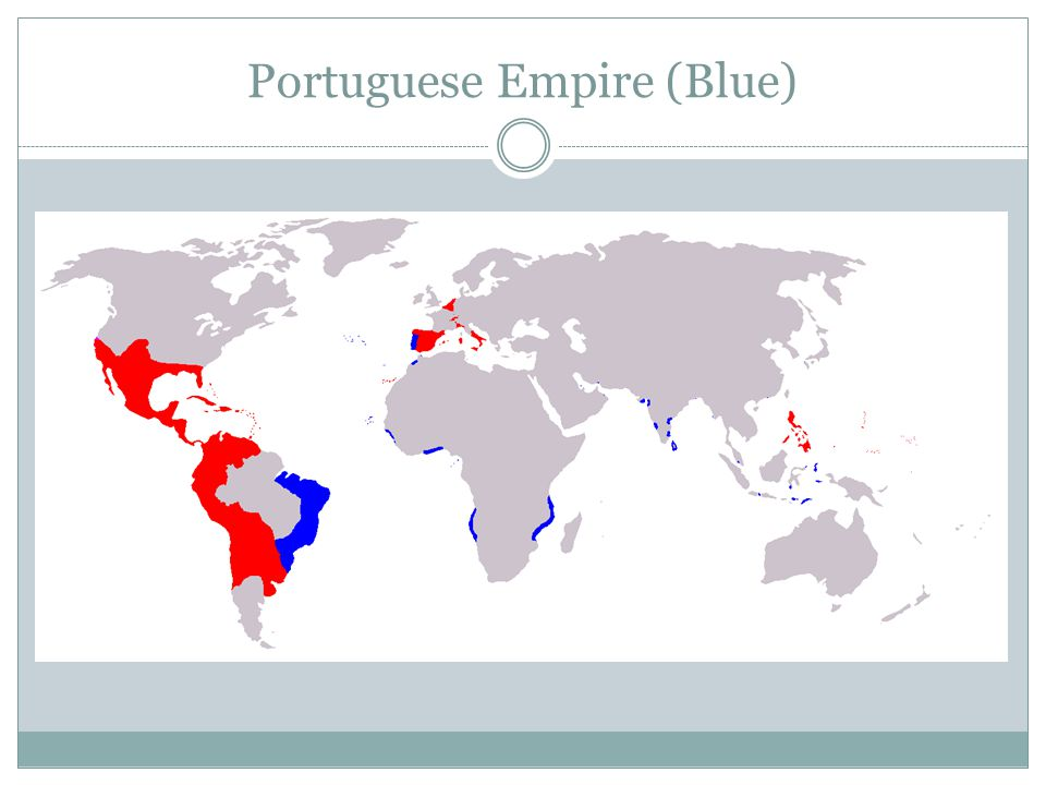 Portuguese Empire (Blue)