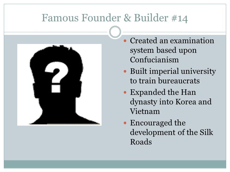Famous Founder & Builder #14