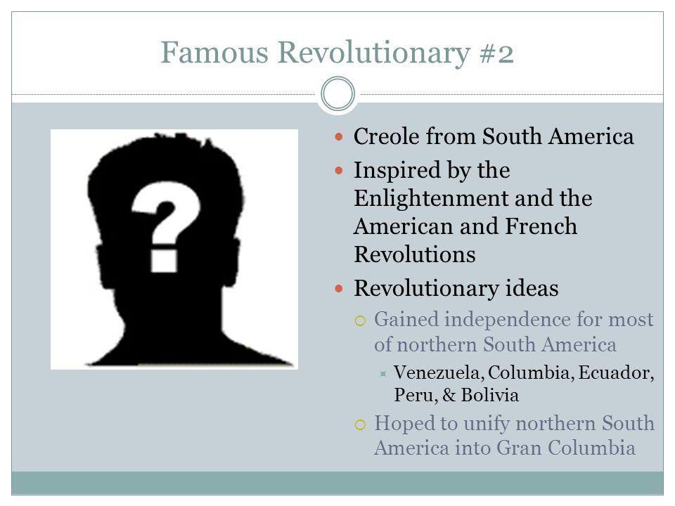 Famous Revolutionary #2