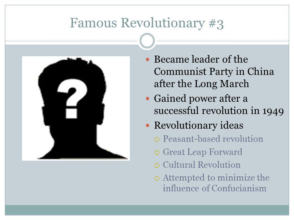 Famous Revolutionary #3