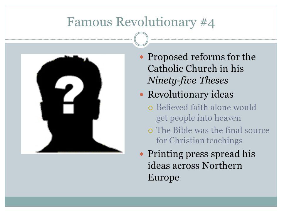 Famous Revolutionary #4