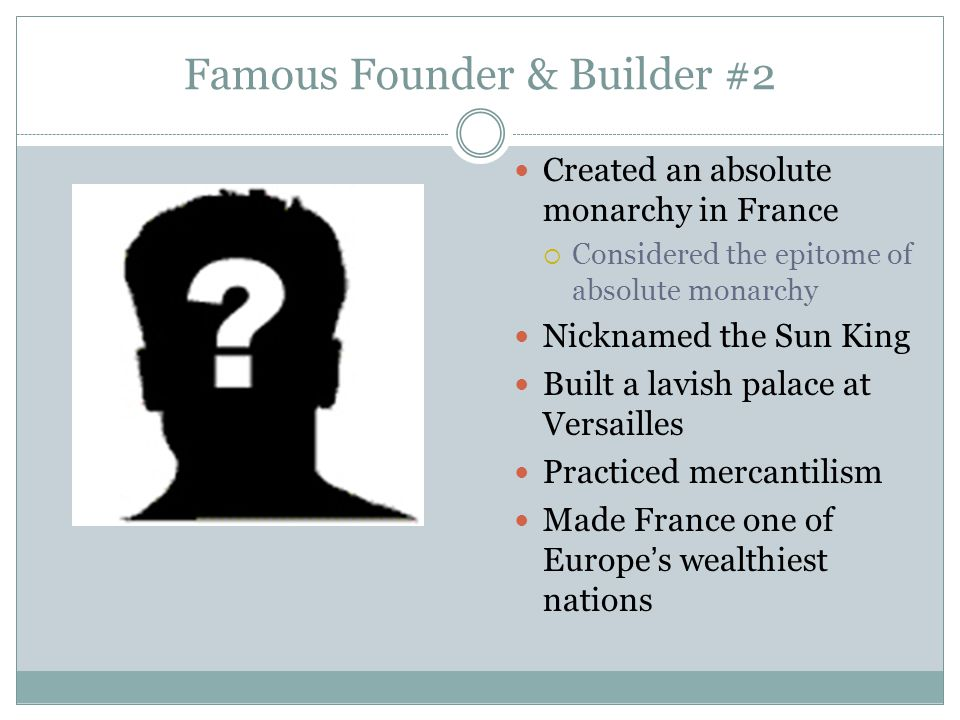 Famous Founder & Builder #2