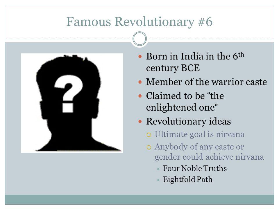 Famous Revolutionary #6