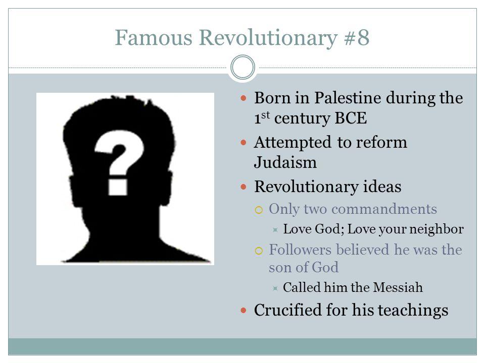 Famous Revolutionary #8