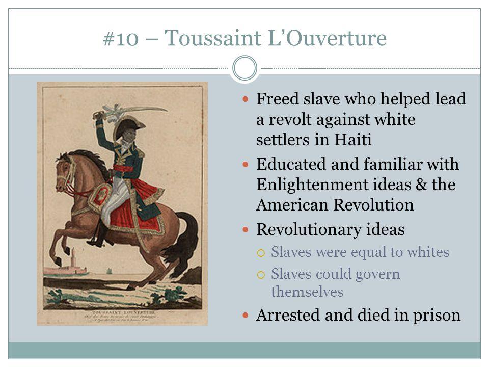 #10 – Toussaint L'Ouverture