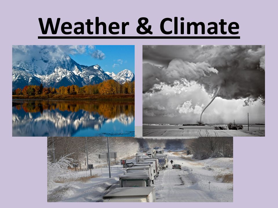 Weather & Climate
