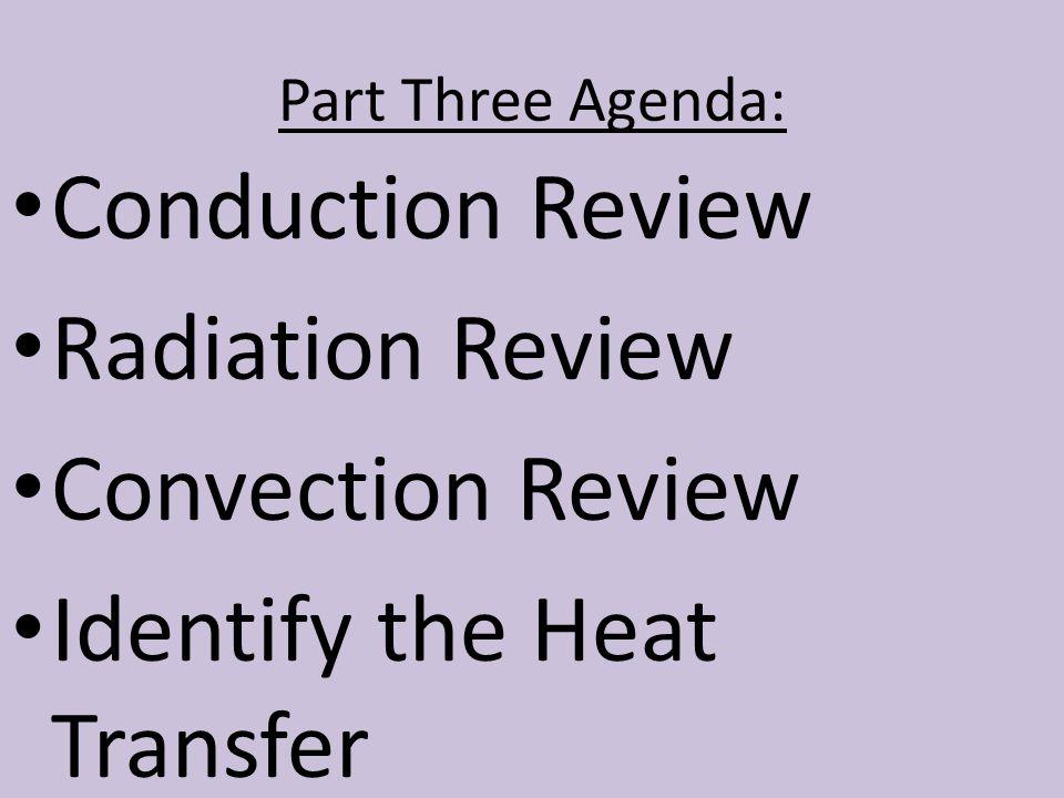 Identify the Heat Transfer