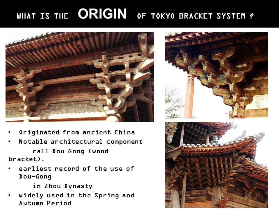 WHAT IS THE ORIGIN OF TOKYO BRACKET SYSTEM