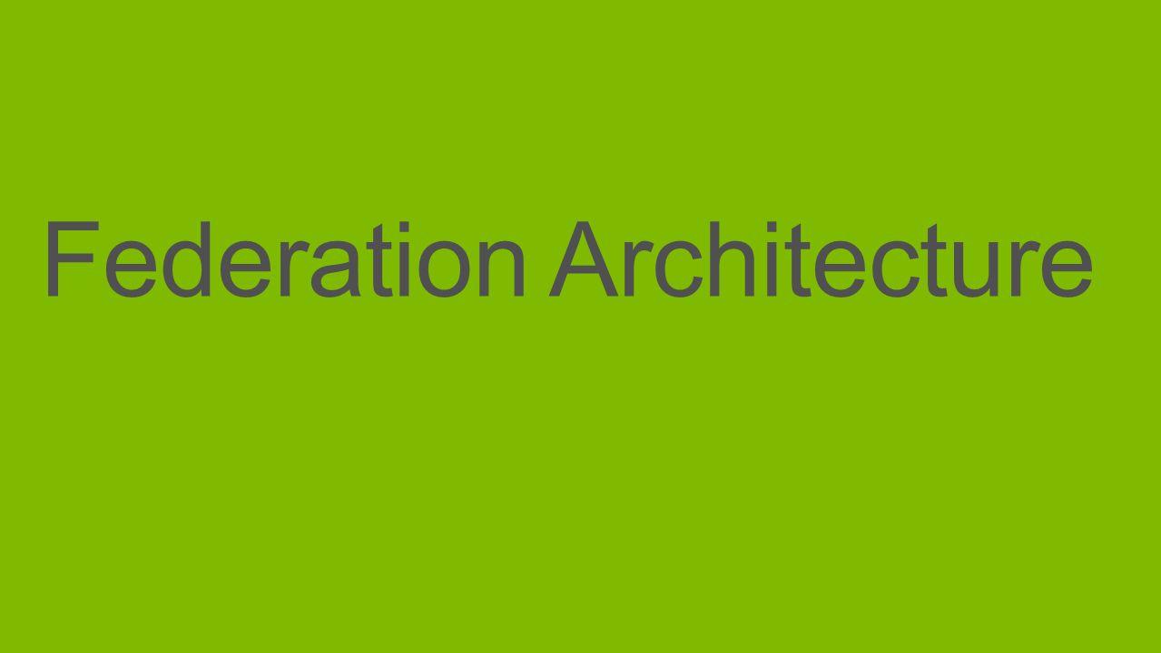 Federation Architecture