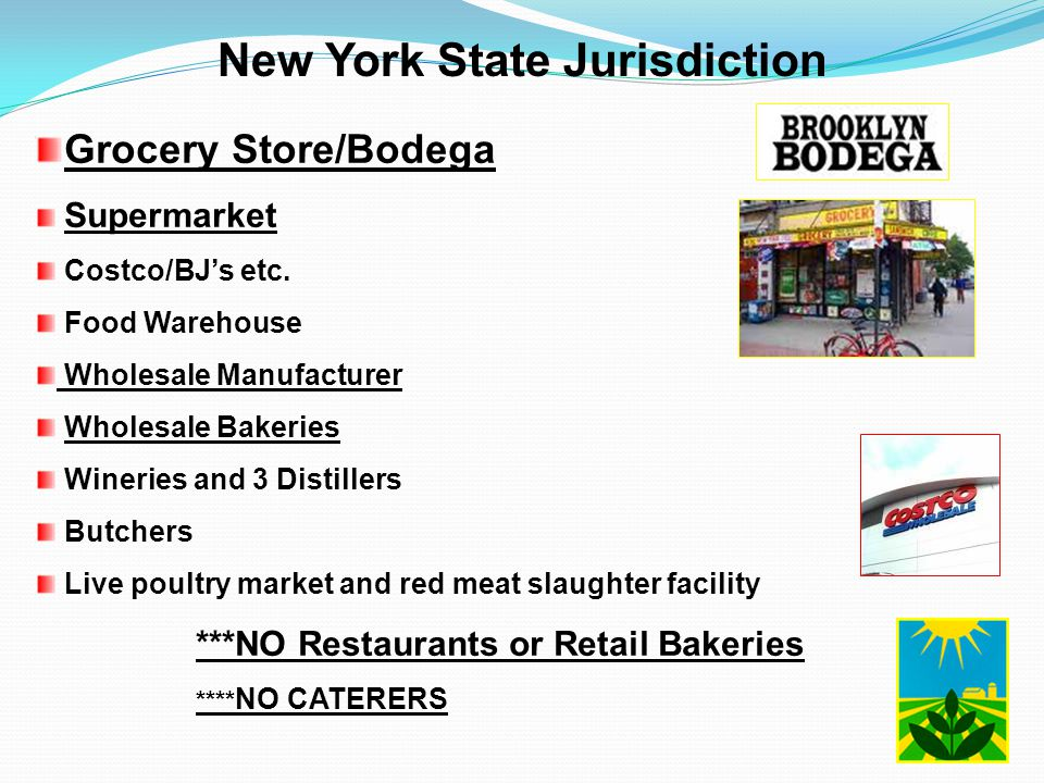 New York State Jurisdiction