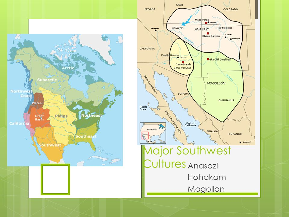 Major Southwest Cultures