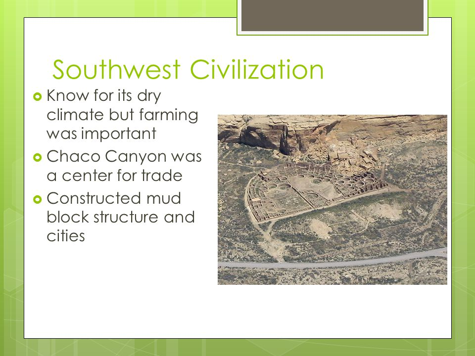 Southwest Civilization