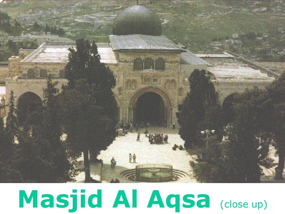 Masjid Al Aqsa (close up)