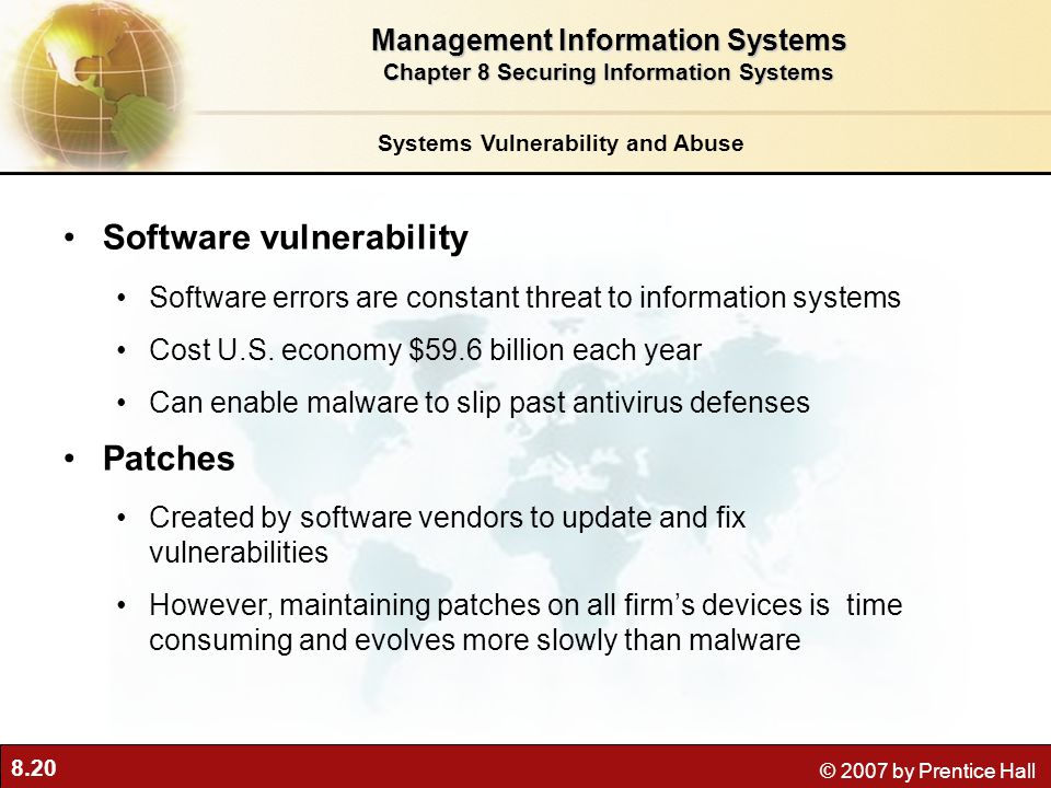 Software vulnerability